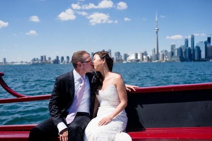 Royal Canadian Yacht Club wedding