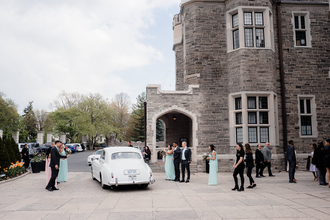 Casa Loma Wedding