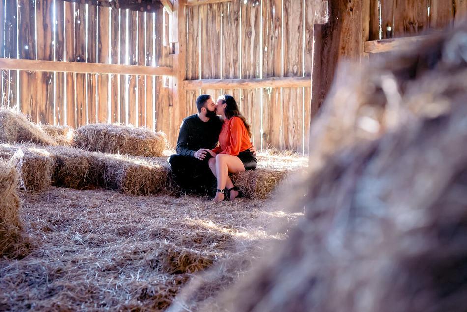 Ontario barn wedding