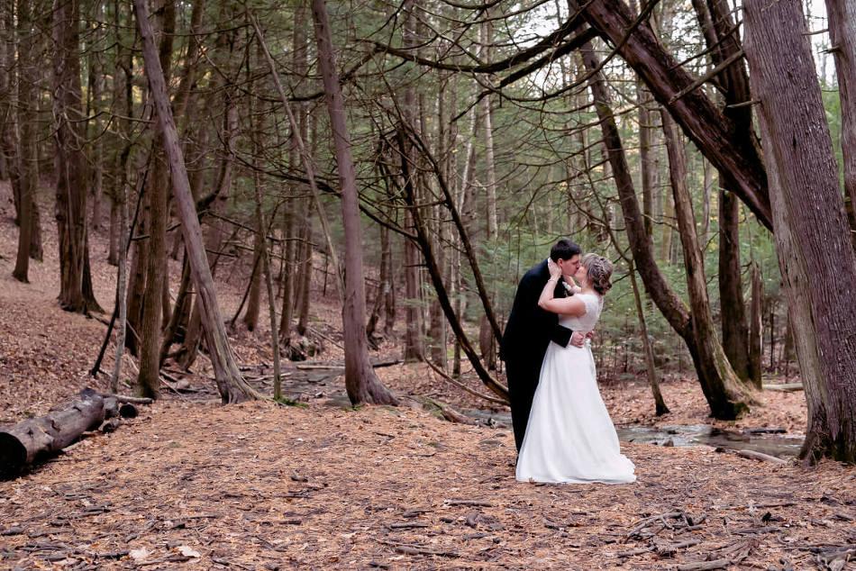 Ganaraska Forest wedding