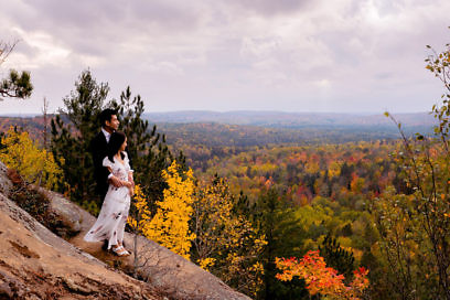 Algonquin Park engagement