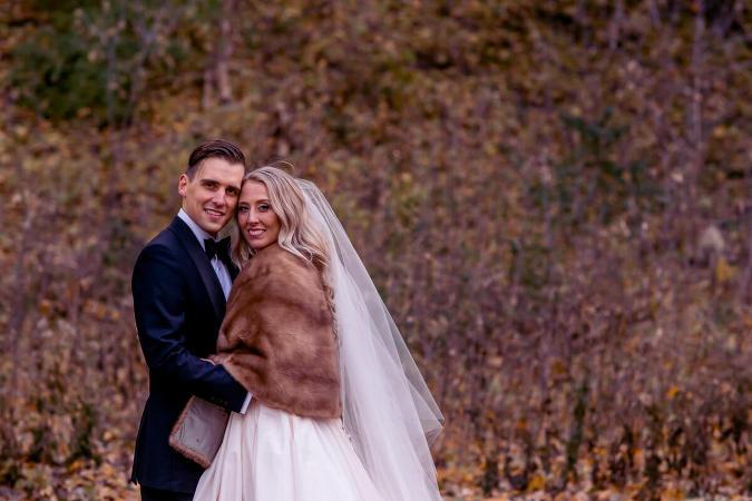Alexander Muir Park wedding