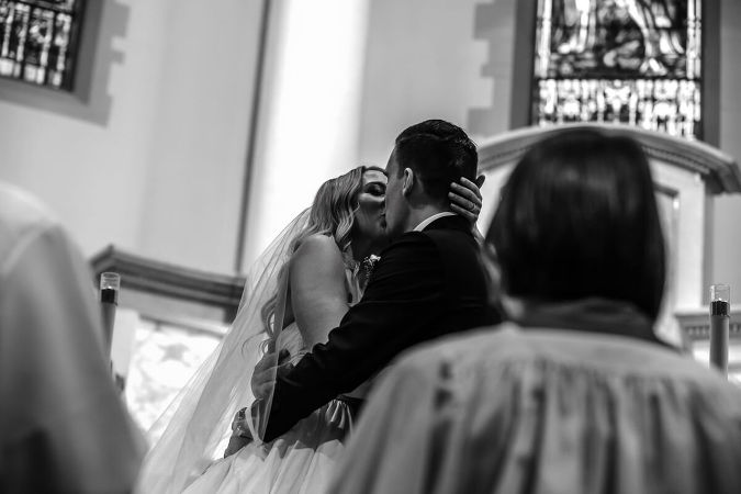 Church of the Blessed Sacrament wedding