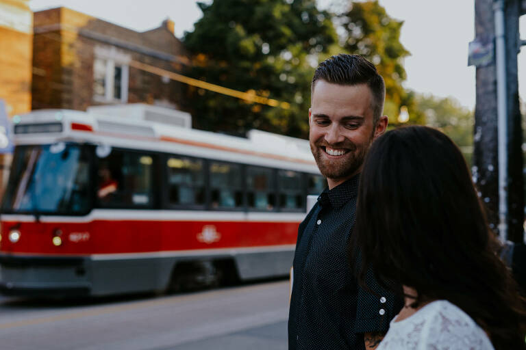Toronto wedding photographer film