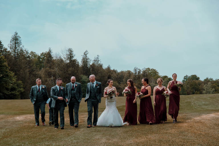 Whitevale Golf Club wedding